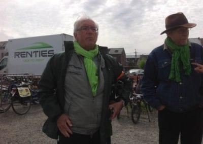 """La délégation ECOLO plus lors de la journée """"Soumagne à vélo"""""""