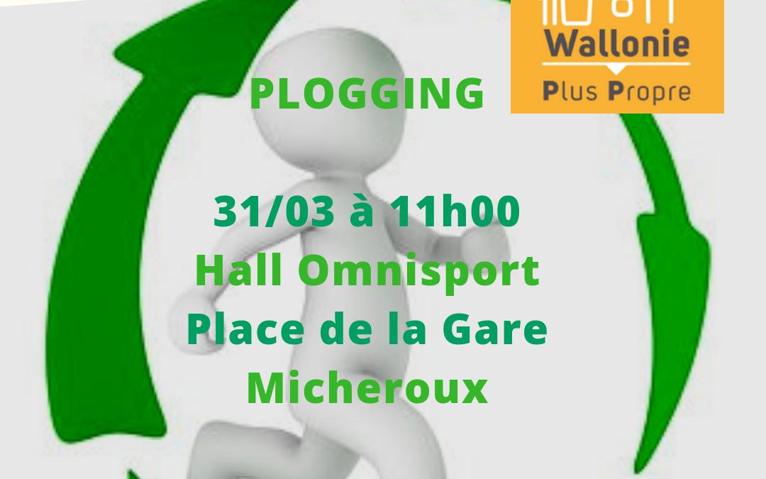 Plogging de Soumagne (grand nettoyage de printemps) – 31 mars 2019